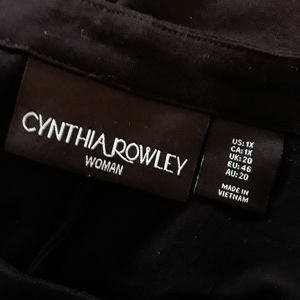 Cynthia Rowley Dresses - Cynthia Rowley black tent dress